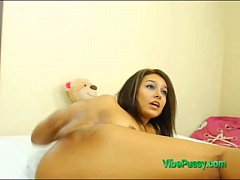 Hot Teen Has VIBEPUSSY Toy in Pussy Waiting For...