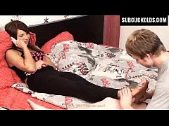 Submissive Cuckolds - husband cuckolded by his ...