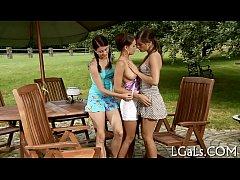 Kinky lesbo babes
