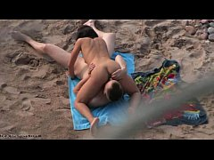 69 position oral on the beach