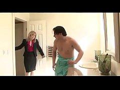 horny mom seduces son's friend - Watch Part 2 a...