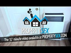 PropertySex - Sexy young real estate agent uses...