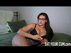 You will love the taste of your own cum CEI