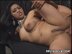 Fantastic big titty brunette Asian mesmerizer g...