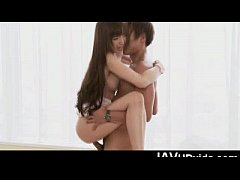 Busty Asian teen Anri fondled and banged hard f...