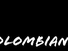 Horny Colombian slut