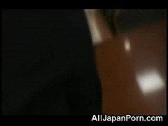Japanese Cutie Fucked in POV!