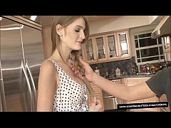 Spunky Redhead Daughter Gets Drilled With Facial Mess