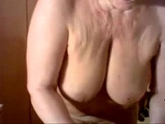 Hacked web cam of my pervert old mum. Watch the...