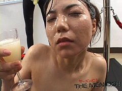 Big load bukkake and swallow girl 6 5\/5 Japanes...