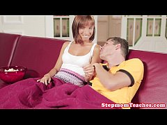 European stepmom doggystyle fun during ffm