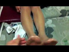 chinese nylon footjob - camshowsxxx.com