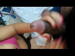 Desi girl friend hand job her Bf's long dick wi...