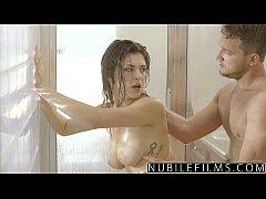 NubileFilms - Hot Shower Sex With Leah Gotti