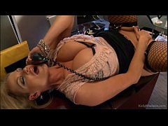 Busty Kelly Madison Has Hot Phone Sex In Her Of...