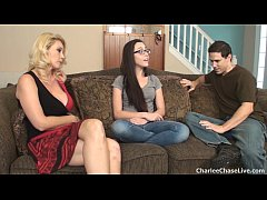 Hot wife Charlee Chase breaks in the horny teen...
