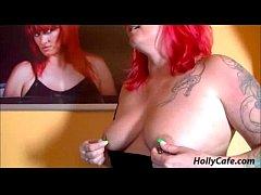German hardcore redhead fat big butt boobs tits...