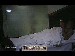 Cặp đôi thịt nhau tại khách sạn, chân dài tới háng