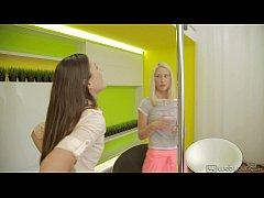 Uma and Iwia Pole Party - WebYoung
