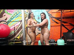 Angelina Castro and Miss Raquel Pussy Play in t...