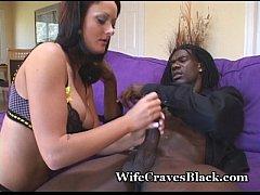 Busty Wife Sucks Down Big Cock