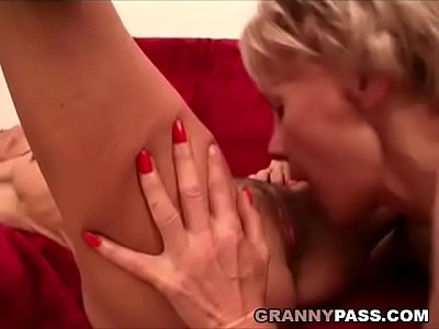 Matures Sex movie: Granny Lesbians Pleases Each Other