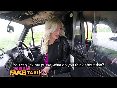 Female Fake Taxi Busty czech driver gets a big ...