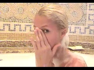 Message, Naked paris hilton shower was specially
