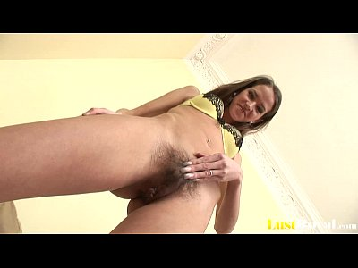 Deluxe Doggy Hairy video: Silvie Deluxe's hairy pussy gets a cum shower