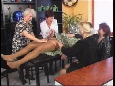 Handjob HD lady Old young boy