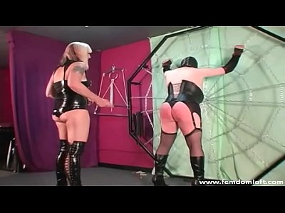 Punishment Slave Spanking video: Ass Cropping In Lingerie