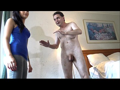 Ballbusting Female Maria vid: Ballbusting: Goddess Maria Marley destroys the testicles of Andrea Dipre