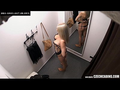 Xxx Amteur hdbusty blonde changing bra in store