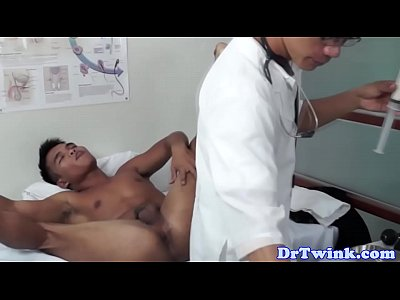 Asian Twink Doctor Ramming Patients Ass