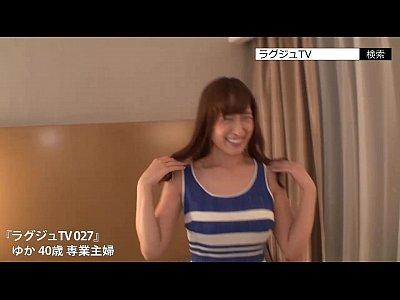 四十路に見えない巨乳人妻松井優子との濃厚ハメ撮りHがエロすぎるw