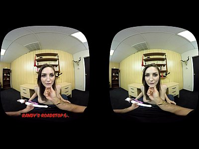 Pov Toys Blowjob vid: Experience Pepper XO in Virtual Reality - Randy's Roadstop VR