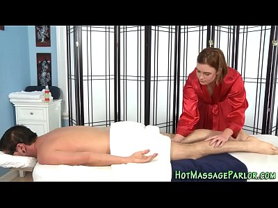 Facialized masseuse blows