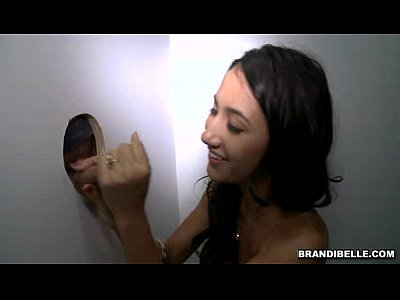 Brunette Smalltits Gloryhole video: Brandi Belle and Amia Miley go to a Glory Hole