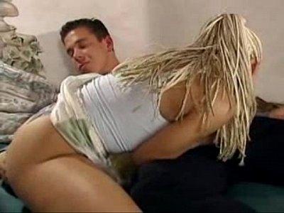 Ретро порно фильм с блондинкой