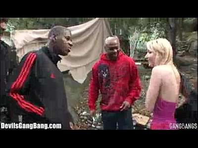 Gangbang Blonde xxx: xvideos19.net - Blonde Teen Gangbanged Interracial