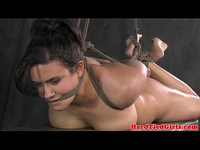 Chubby sub restrained and hammered by maledom pascal white - 1 part 3