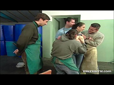 Gangbang Hardcore Bukkake video: Private.com - Patricia Diamond Gets a Gangbang