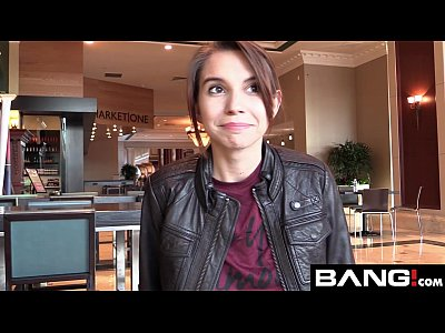 Hardcore Teen Brunette video: Cece Capella Auditions for the BANG! Network