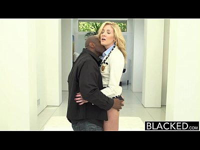 10 Min Rich White Honey Takes On Two Big Black Cocks BLACKED
