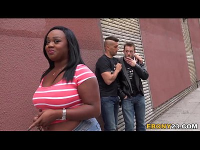 Ebony Jayden Starr Tries Double Penetration