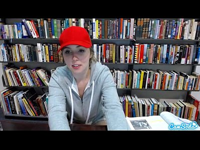 Lena Paul na Biblioteca Fazendo Safadeza
