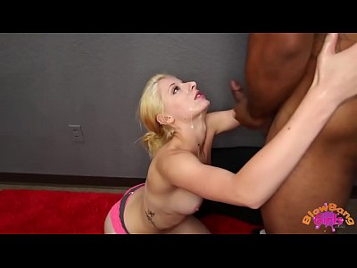 Blowjob Facial xxx: Newbie Hot Blonde Gets 8 Facials