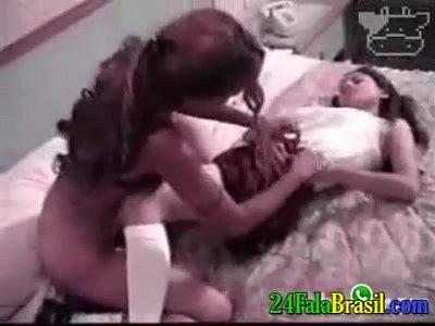 video lesvianas
