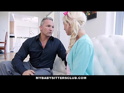 MyBabysittersClub - Super Cute BabySitter Fucks For Money