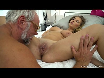 Bigtits Blowjob Busty video: Chubby babe on grandpa dick - Aida Swinger